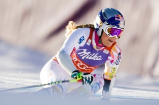 Lindsey Vonn out for season; expected back before Sochi (Photo: Chris Humphreys-US PRESSWIRE)