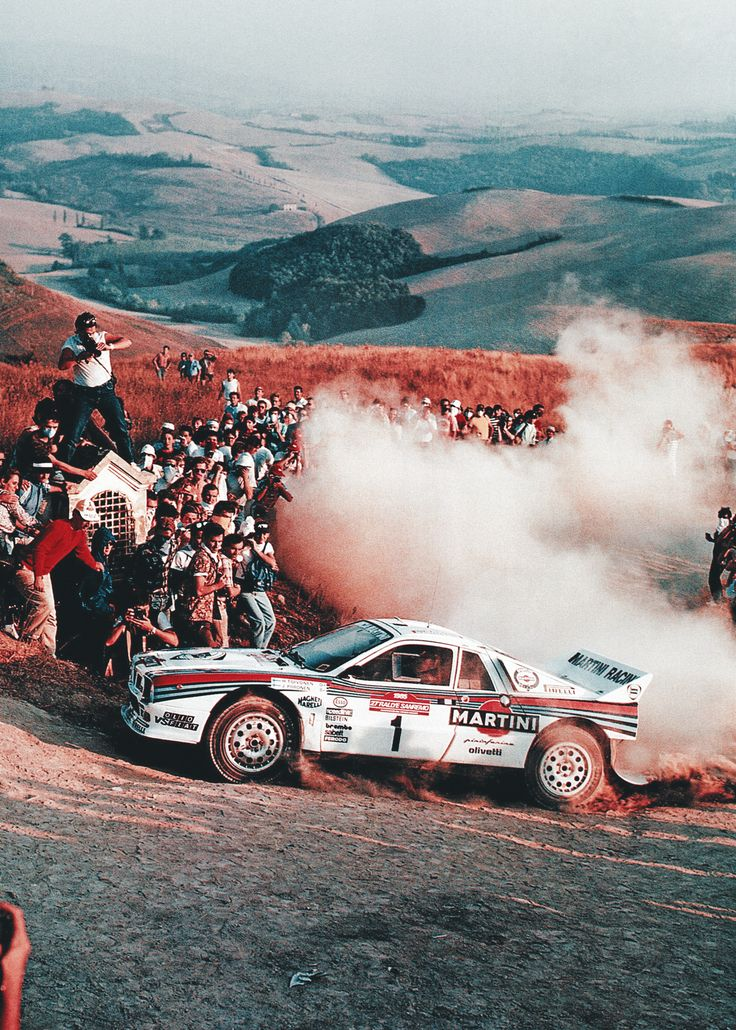"""amjayes:  """"Henri and his father Pauli were the same in that they both had total commitment to the job they were asked to do. They gave it everything."""" - Cesare Fiorio (Fiat/Lancia team manager)"""