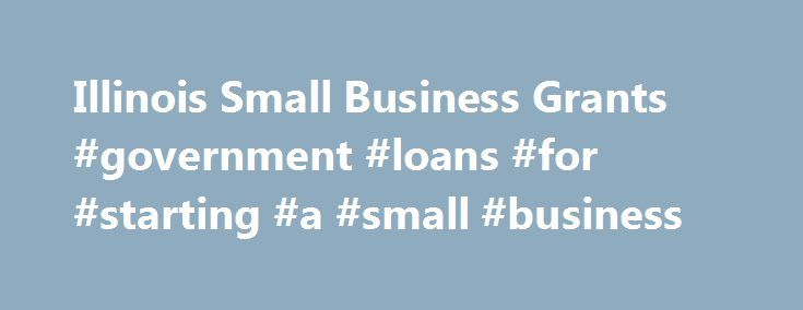 Illinois Small Business Grants #government #loans #for #starting #a #small #business http://tanzania.nef2.com/illinois-small-business-grants-government-loans-for-starting-a-small-business/  # Illinois Small Business Grants Starting and running a small business can be a financial challenge. Investors and banks want a return on their monetary investments into your business. Illinois small business grants can be a boon for any small business owner needing additional funds to help their business…