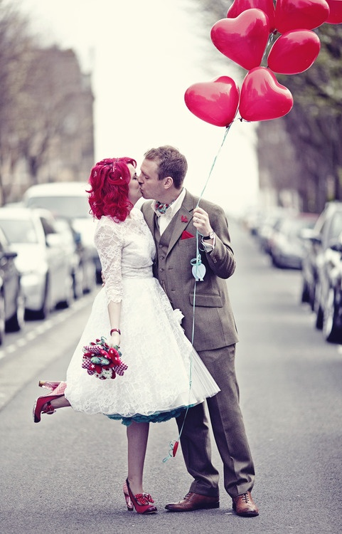 Le Gasp x 2: Wedding Photography, Brighton Cinema Wedding 0249, Photo Ideas, Eclectic Wedding, Red Hair, Color, Hair Wedding, Red Heart, The Dresses