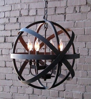wrought iron pendant lighting kitchen - Google Search