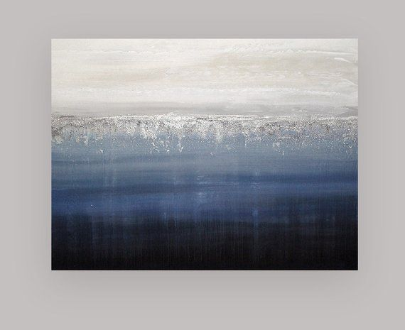 Acrylic Paintings Blush Gold Silver Large Original Abstract Etsy Blue Painting Canvas Abstract Painting Acrylic Blue Abstract Painting