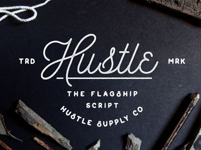 Hustle Script - Now Available on Creative Market