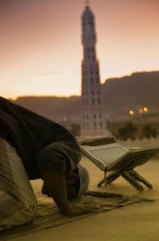 prière et lecture du coran