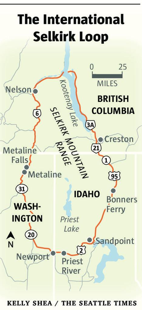 Golden larches, rugged scenery are draws to Washington's northeast corner.