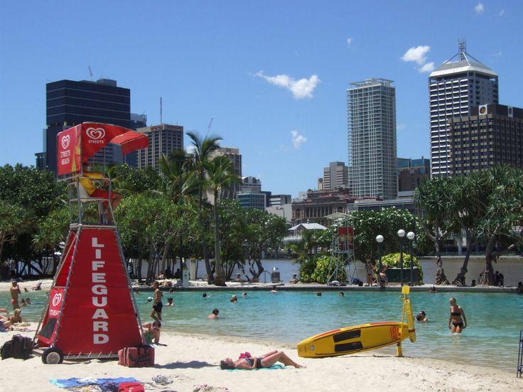 Brisbane Queensland, Australia: Southbank Precinct - Streets Beach