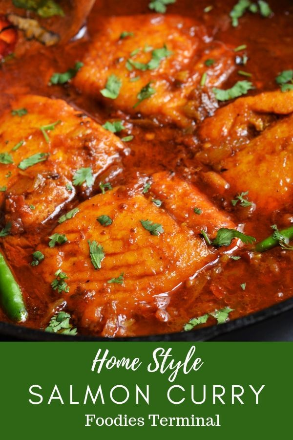 Indian Salmon Curry Video Steps Easy Salmon Curry Foodies Terminal Foodies Terminal Recipe Salmon Fillet Recipes Salmon Curry Easy Meals