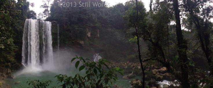 Misol-Ha #waterfalls. #Mexico