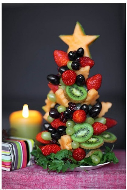 This is perfect for a dessert table at Christmas!