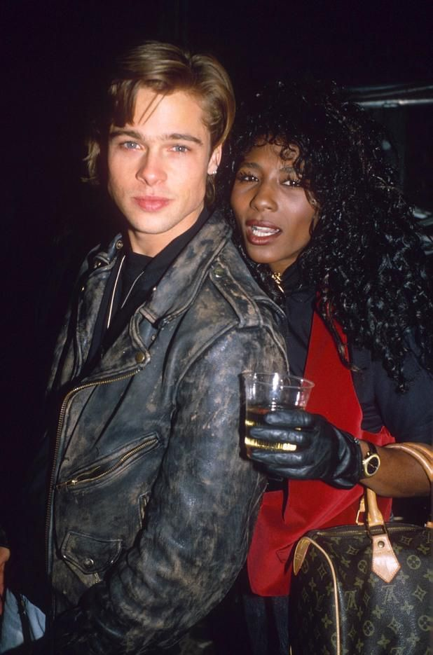 """How did Sinitta snag Brad? The So Macho singer, who also dated Simon Cowell, dated Brad for around two years before he found Hollywood fame. She said: """"He was beautiful with the most amazing body. I saw him for two years. He was fun, he was young and very sweet."""""""