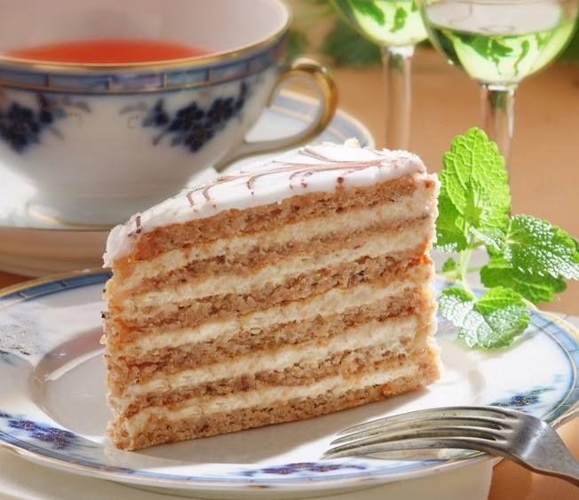 Szamos Eszterhazy torta