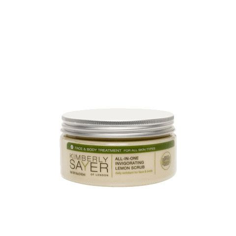 ALL-IN-ONE LEMON SCRUB - Organic Skincare - Flow Organics | Cosmetics, supplements and Organic Baby Products