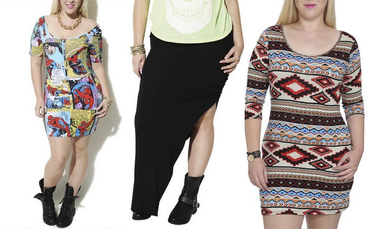 Plus Size VS. Plus Size Juniors Clothing.