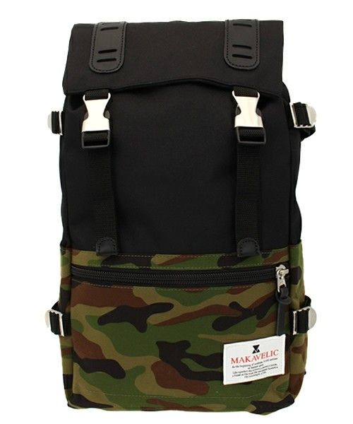 CHAPTER WORLD select | MAKAVELIC / DOUBLE BELT DAYPACK(Medium)(バックパック/リュック)