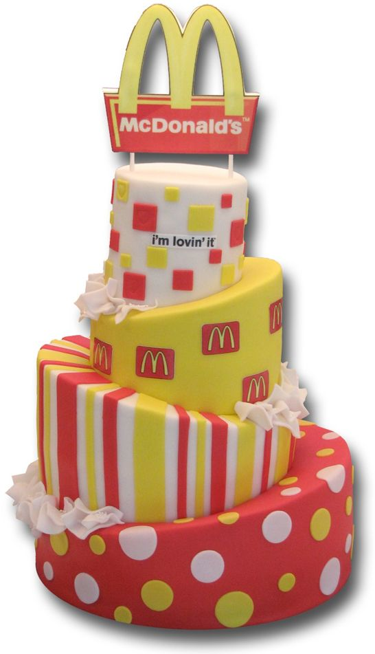 Mc Donalds taart