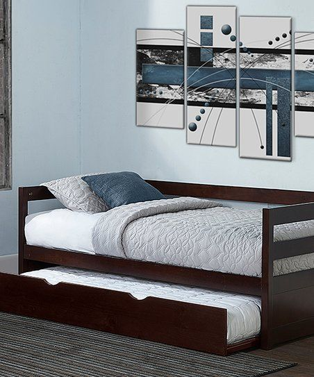 Chocolate Hillsdale Caspain Trundle Daybed   zulily