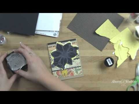 Stamping with glue