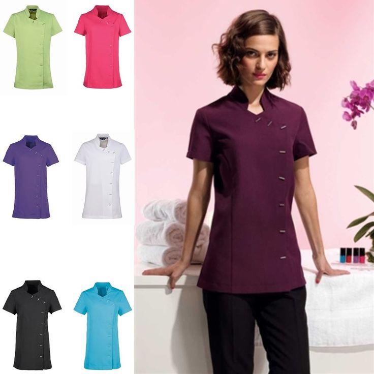 1000 images about spa uniforms on pinterest clogs hair for Uniform spa salon