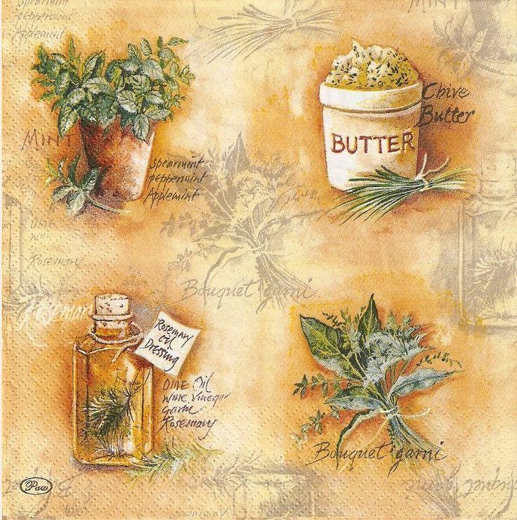 Mejores 35 im genes de cocina en pinterest servilletas - Laminas decorativas para cocinas ...