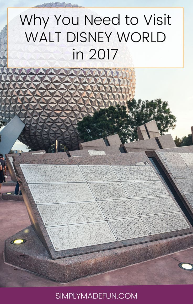 Visit Disney World in 2017 | Disney World | Disney Travel | Disney Vacation Tips | Vacation Planning | Orlando Travel | Disney on a Budget via @simplymadefun