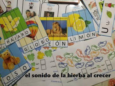 Puzzles de palabras, por Carmen Fernández Cacho :El sonido de la hierba al crecer