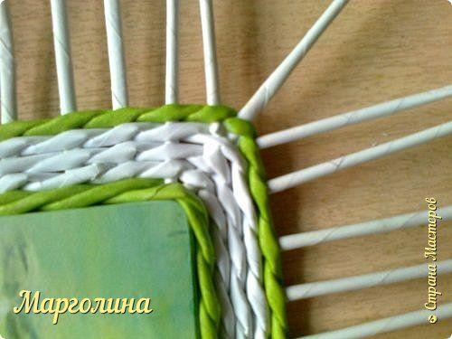 Мастер-класс Поделка изделие Плетение Небольшой МК прямоугольной крышки вывела схему прямого угла:дополнительные стоечки-петля-веревочка-доп.стоечки-петля и т.д.