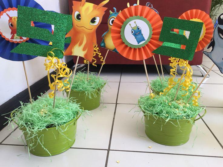 """Fiesta temática """"Bajoterra""""preparado por Joy's Creaciones y Diseño. Joyfer30@hotmail.com"""