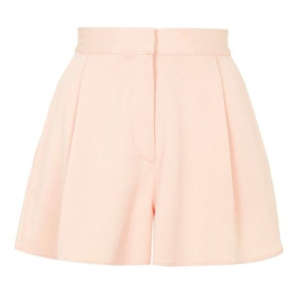 Topshop 'Hitch' Flippy Shorts found on Polyvore featuring shorts, skirts, bottoms, topshop shorts, zipper shorts, topshop and pull on shorts