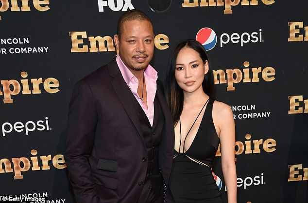 Back together?: Howard and third wife Pak (above at the Empire premiere in NYC last week) ...