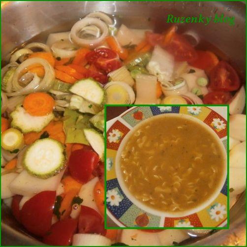 Zeleninová polévka ( Passato di verdura)