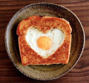 Für das besondere Valentinstag Frühstück. Noch mehr Ideen gibt es auf www.Spaaz.de