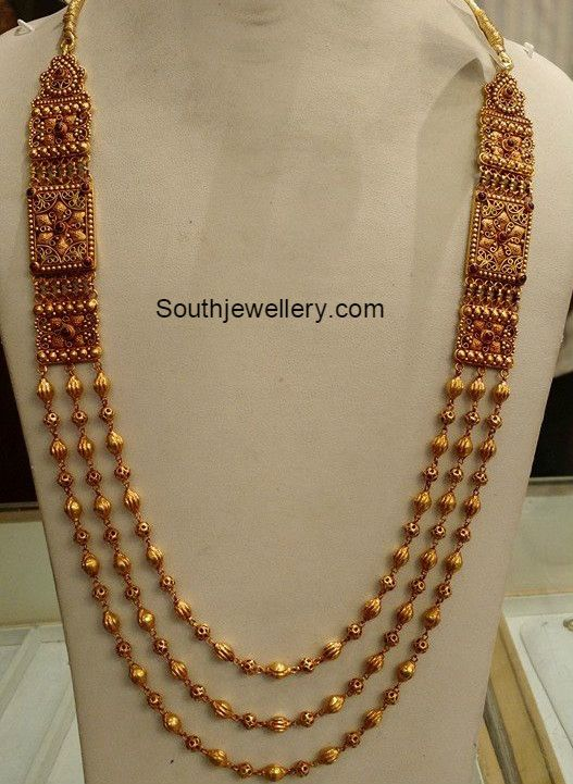Antique Gold Long Chain