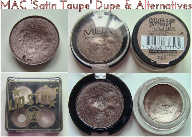 MAC Satin Taupe Eyeshadow Dupe & Cheaper Alternatives ...