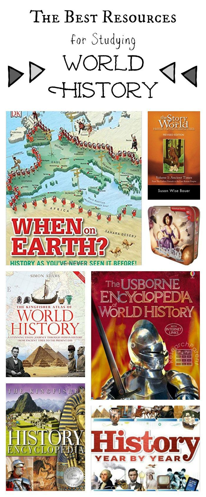 Best Resources for Studying Ancient Egypt - Ever-growing list containing several of the best books, games, and media for a wide variety of age ranges including elementary and middle school. via @researchparent