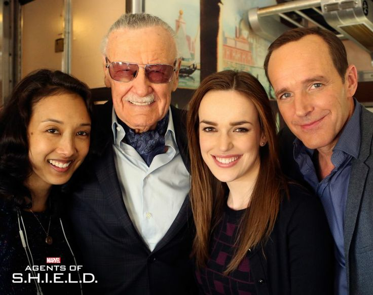 Stan Lee set to appear on Agents of SHIELD in an upcoming episode! YEAAAAAH buddy!