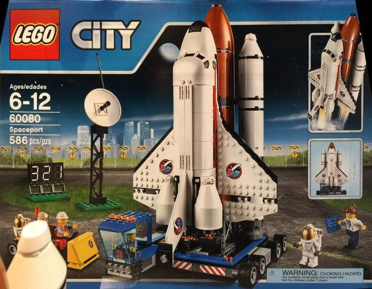 Lego City Space Spaceport 60080 Shuttle in Hand 2015 ...
