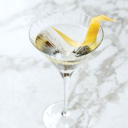 Fifty-Fifty Martini Recipe - Bon Appétit