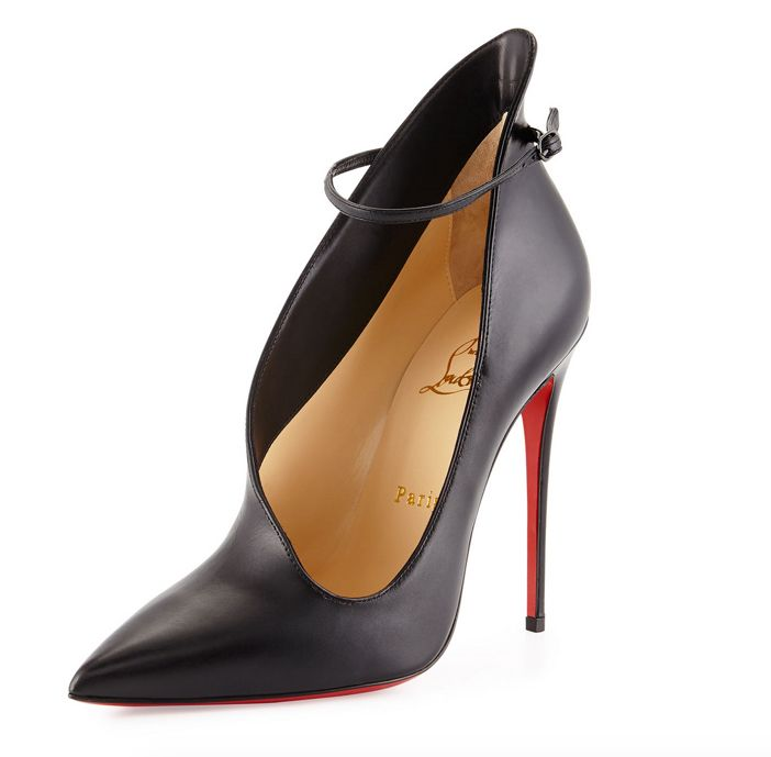 Christian Louboutin Vampydoly Asymmetric Red Sole Pump 2