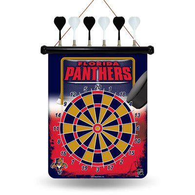 Rico NHL Magnetic Dart Board NHL Team: Florida Panthers
