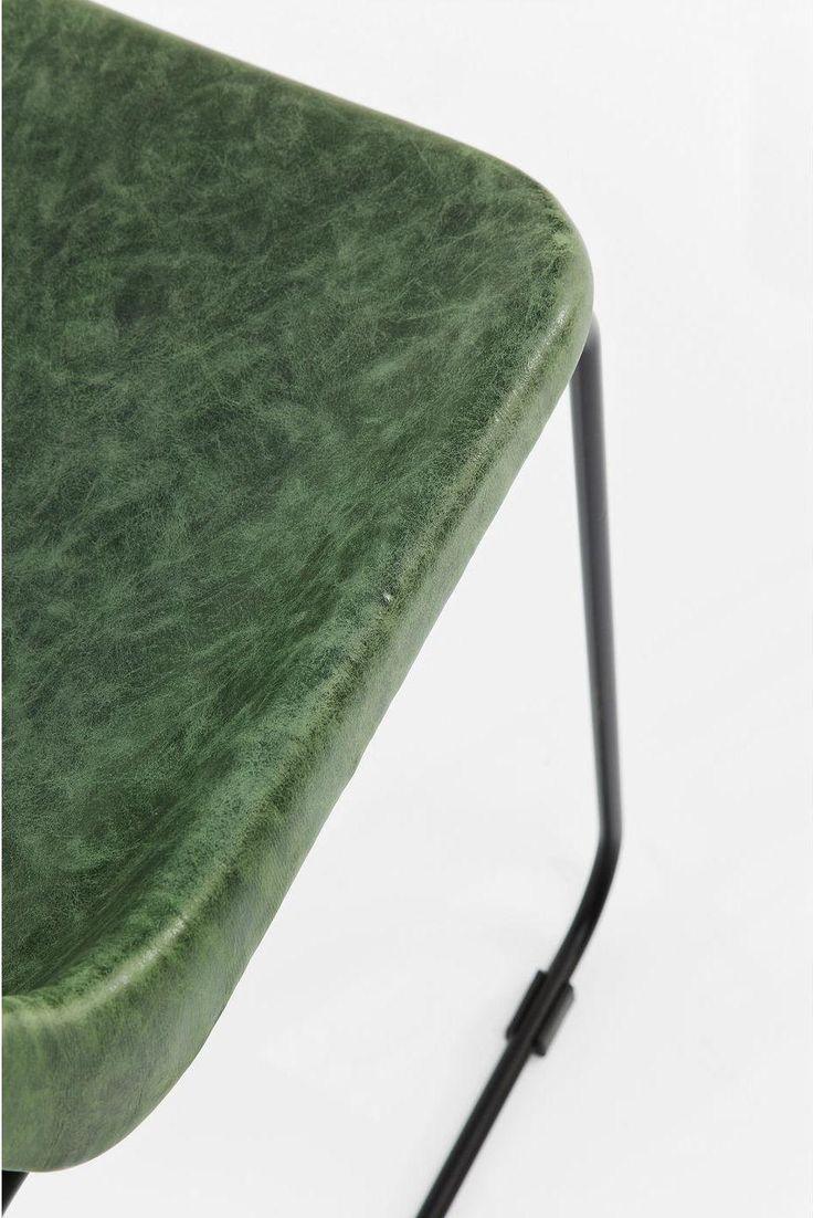 Eetkamerstoel Colorado - Groen - 74x54x45 - Kare Design