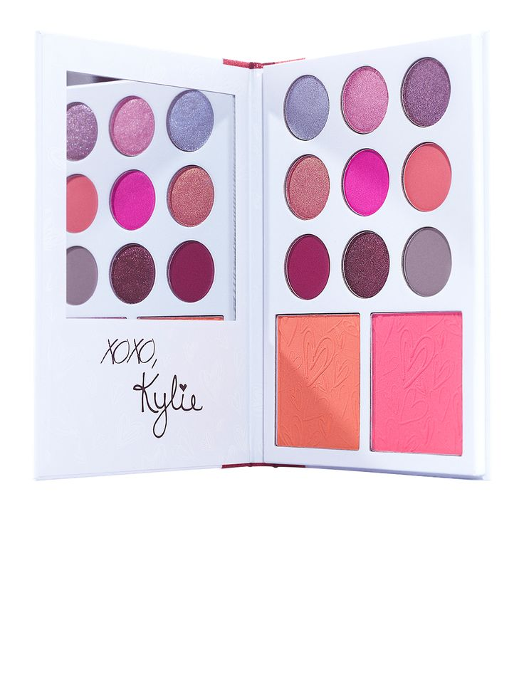 Kylie's Diary   Kyshadow + Blush Palette – Kylie Cosmetics℠   By Kylie Jenner