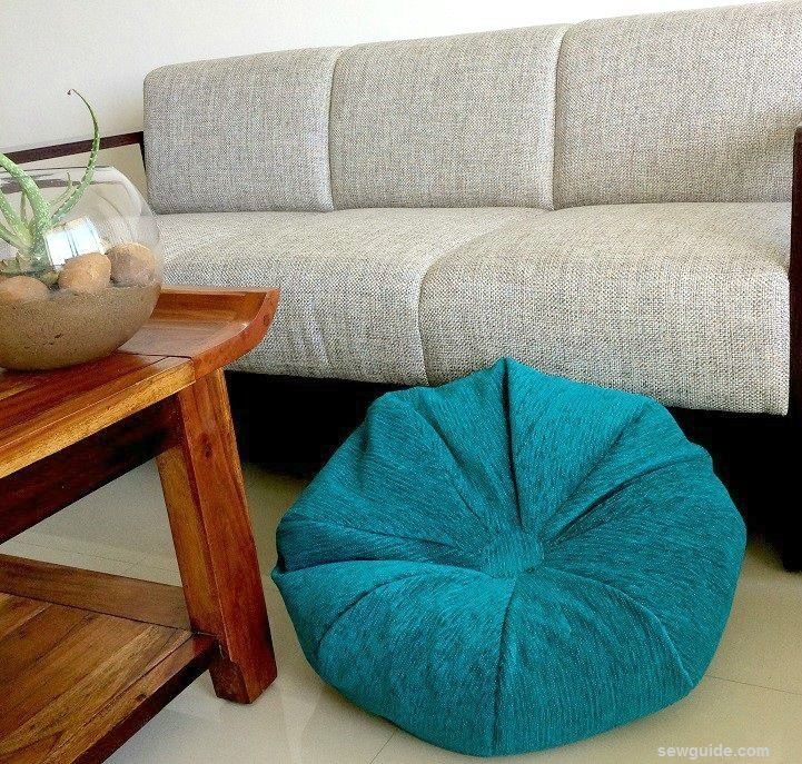 Make an easy Bean Bag {DIY Sewing pattern} - Sew Guide ...