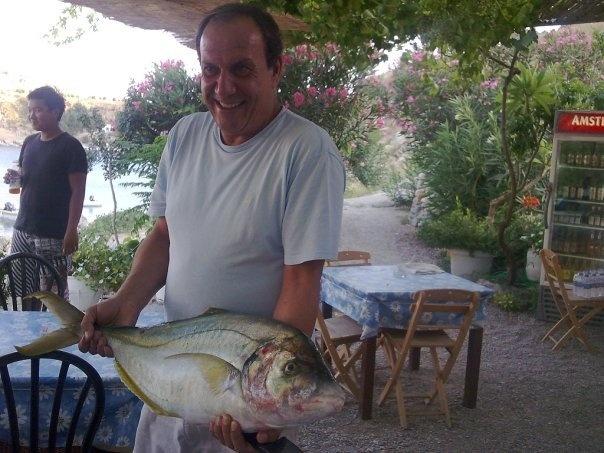 Dimitris - St Pauls beach taverna