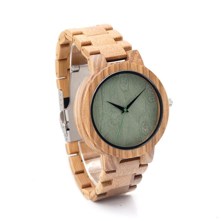 Our Hanley all wooden watch has a beautiful walnut tone. The soft, grainy details make this interesting and perfect for the guy who has a busy schedule. This watch can take you from work to date night