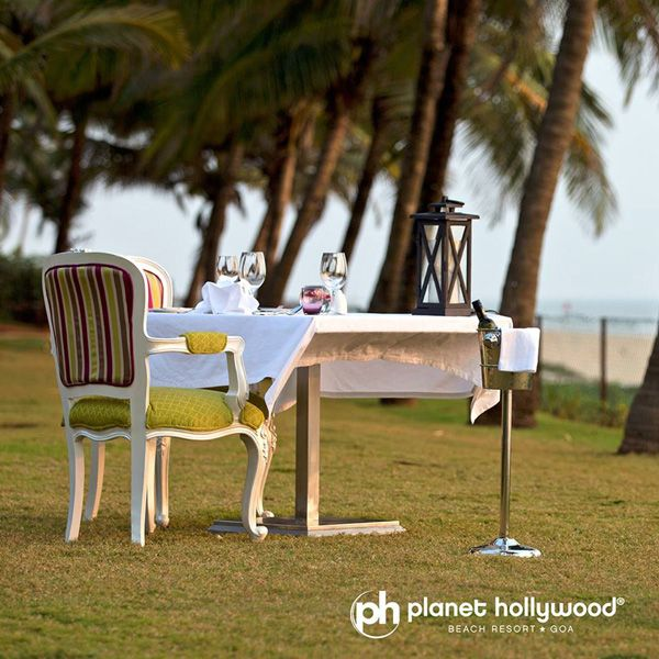 Fine dining with privacy is an occasional treat for most of the people, at Planet Hollywood Beach Resort we serve you both.  #PlanetHollywoodGoa #BeachResorts