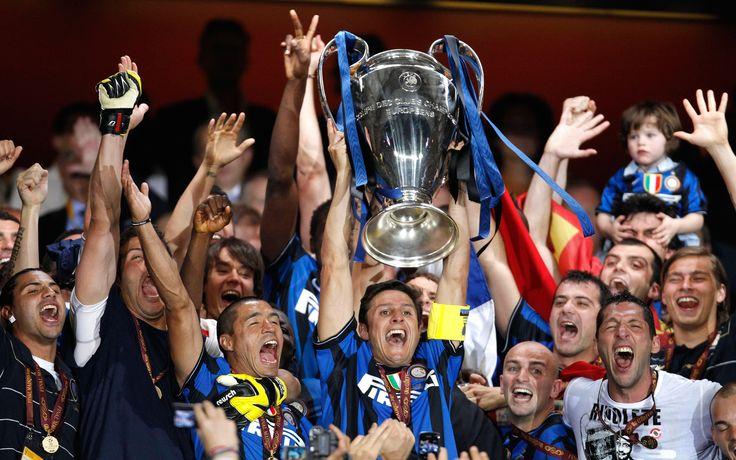 Inter wins che Champions' League.