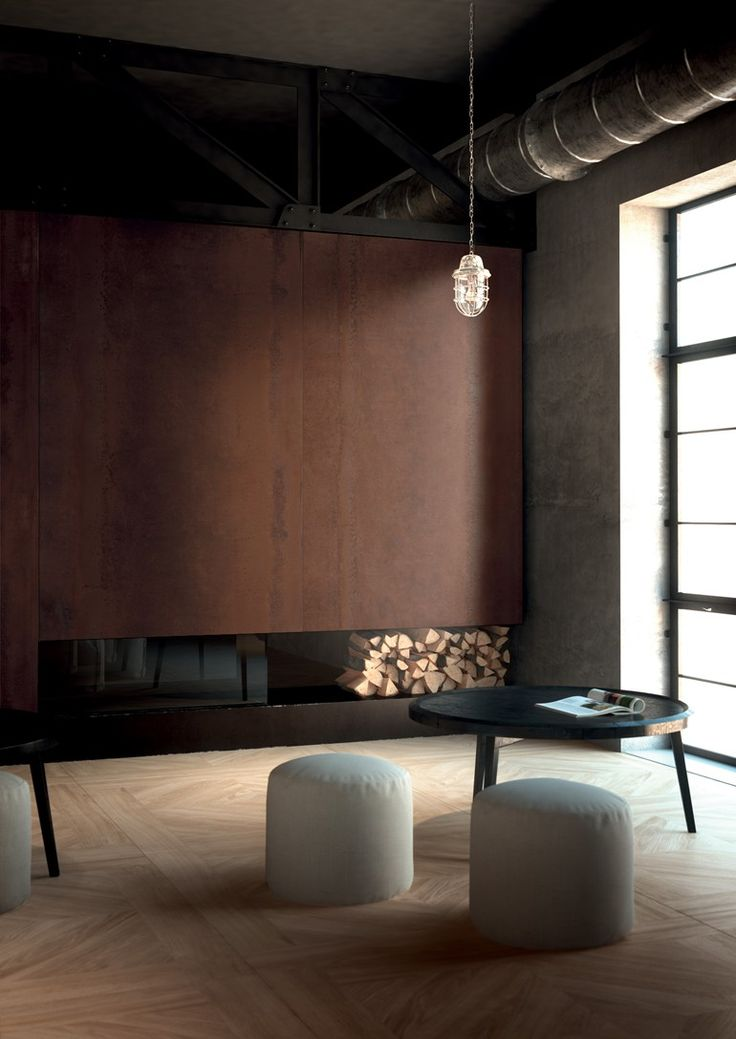 Porcelain stoneware wall tiles with metal effect ACIDIC by CERAMICA FONDOVALLE