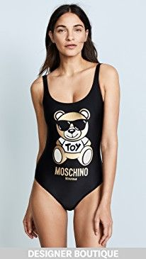 New Moschino Toy Bear Graphic Swimsuit online. Find great deals on Joanna August Clothing from top store. Sku ooag61548tjnx85020