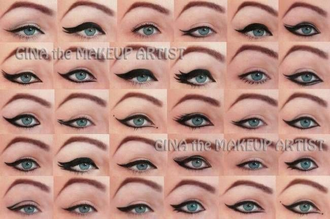 How To Apply Eyeliner For Different Eye Shapes Images & Pictures ...