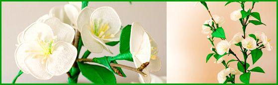 Kwiaty z bibuły | Rękodzieło | Bibułkarstwo Kwiaty z bibuły | Rękodzieło | Bibułkarstwo